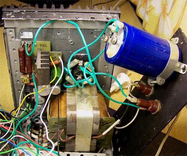 Регулятор напряжения до 40 вольт