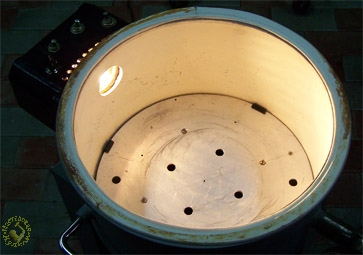 Coverage of the vacuum chamber